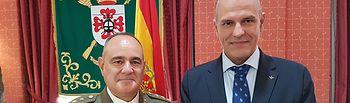 Toma de posesión del nuevo subdelegado de Defensa de Ciudad Real.