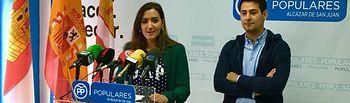 Victoria Gómez, presidenta provincial de NNGG Ciudad Real.