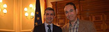 En la sesión de este viernes ha tomado posesión como nuevo diputado provincial Emilio Ramón Lozano Reviriego, alcalde de Borox, por el Partido Judicial de La Sagra.