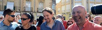 Pablo Iglesias visita Guadalajara.
