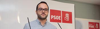 Francisco Valera, secretario de organización provincial del PSOE Albacete