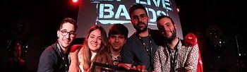 El grupo Vermú de Albacete ganador del concurso musical EDP Live Bands 2018