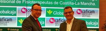 Convenio de Globalcaja con el Colegio Profesional de Fisioterapeutas de CLM (COFICAM)
