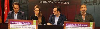 Teatro en inglés y actividades en el Castillo de Belmonte (Cuenca) para completar la oferta de idiomas en las Universidades Populares de la provincia
