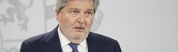 El ministro de Educación y portavoz del Gobierno de España, Íñigo Méndez de Vigo