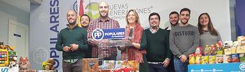 Presentación balance campaña 'Populares Solidarios' en sede PP Guadalajara.