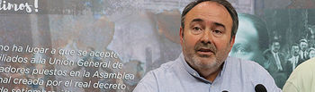 Carlos Pedrosa, secretario general de UGT CLM.