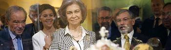 La Reina Sofía inaugura en Toledo la exposición 'El Griego de Toledo'.