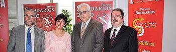 Isabel Rodríguez asistió hoy en Albacete a la entrega de los premios Solidarios 2010
