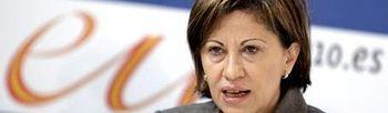 La ministra española de Medio Ambiente, Medio Rural y Marino, Elena Espinosa. EFE