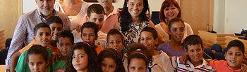 Recepción a los niños saharauis