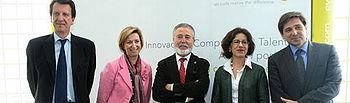 Araújo inauguró hoy en Miguelturra las instalaciones de la multinacional Everis