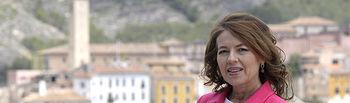 Aurelia Sánchez,  consejera de Bienestar Social en funciones.
