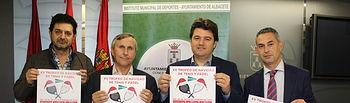 El Ayuntamiento y el IMD se suman al XV Trofeo de Navidad de Tenis y Pádel ofreciendo las instalaciones deportivas del Carlos Belmonte.