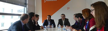 La SSPA traslada sus medidas frente a la despoblación a los grupos parlamentarios de Ciudadanos y Unidos Podemos