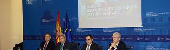 Fernando Burgaz subraya la importancia del sector agroalimentario y pesquero español en la economía nacional y en los mercados exteriores. Foto: Ministerio de Agricultura, Alimentación y Medio Ambiente