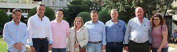 Encuentro candidatos a alcaldes pedáneos del Partido Popular.