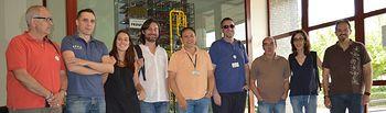 Rafael Mayoral en su visita a Elcogas