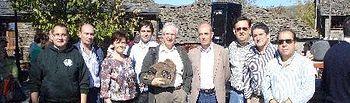 Lorenzo Robisco muestra el compromiso de la Diputación con la Sierra Norte