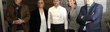 María Dolores Cospedal y Francisco Núñez felicitaron al Restaurante Maralba por su Estrella Michelín