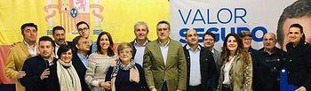 Rosa Romero asiste a la presentación de la candidatura del PP de Villamayor de Calatrava