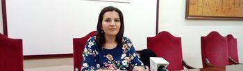 Caridad Martínez Parra, concejala de Educación en el Ayuntamiento de Villarrobledo.