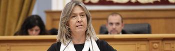 Ana Guarinos, diputada regional del Grupo Parlamentario Popular en las Cortes de Castilla-La Mancha. Foto: CARMEN TOLDOS