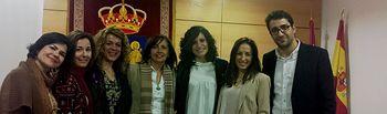 Fotografía del Debate-Coloquio celebrado en San Pedro, sobre la Igualdad de Género.