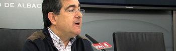 Ramón Sotos, concejal del PSOE en el Ayuntamiento de Albacete.
