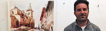 Gonzalo Romero Navarro, primer premio IV Concurso Pintura Rápida 2018,
