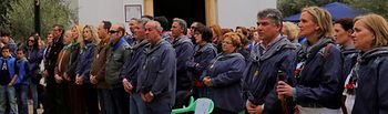 Carmen Casero en Romería Virgen de las Viñas-1. Foto: JCCM.