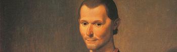 Retrato de Nicolás Maquiavelo por Santi di Tito.