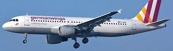 Imagen de archivo de un Airbus A320 de Germanwings.