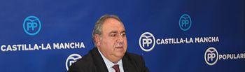 Vicente Tirado en rueda de prensa.