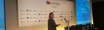 Foto de la ministra Ana Pastor en el I Foro de Innovación Turistica Hotusa Explora (Ministerio)