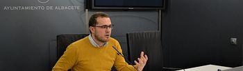Manuel Martínez, concejal del Grupo Municipal Socialista en el Ayuntamiento de Albacete.