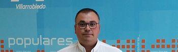Bernardo Ortega, portavoz Municipal del Grupo Popular en el Ayuntamiento de Villarrobledo