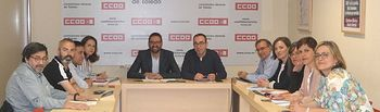 Reunión CCOO -PSOE CLM.