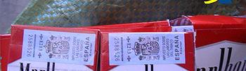 Cajetillas de Tabaco. Fotoo Ministerio de Hacienda y Administraciones Públicas