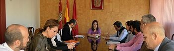 La alcaldesa se reúne con los directores de hoteles para potenciar el turismo en Ciudad Real