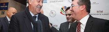 Marcial Marín asiste a la X Gala del Deporte de Albacete. Foto: JCCM.