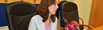 Flora Bellón, portavoz municipal.