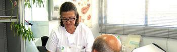 Imagen de la nueva consulta de enfermería específica para pacientes ostomizados que ha comenzado a funcionar en el Complejo Hospitalario de Toledo.