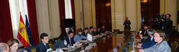 Isabel García Tejerina preside la reunión del Comité Asesor Agrario. Foto: Ministerio de Agricultura, Alimentación y Medio Ambiente