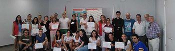 Treinta y cinco personas finalizan con éxito dos cursos de formación del Plan de Empleo de Cruz Roja