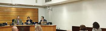 Toledo, 23 de octubre de 2019.- Comisión parlamentaria sobre la designación de la Ponencia encargada de elaborar el Informe sobre el Proyecto de Ley del Estatuto de las Mujeres Rurales de Castilla-La Mancha. FOTOS: Carmen Toldos).