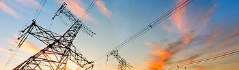 Fotografía de una torre de electricidad