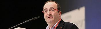 Miquel Iceta en la Conferencia Autonómica.
