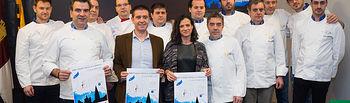 La Diputación apoya la celebración del I Certamen de Euro-Toques de Castilla-La Mancha con dos cocineros albaceteños