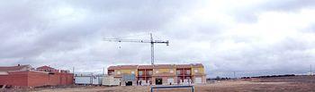 En la imagen, la parcela cedida por el Ayuntamiento de La Puebla de Almoradiel en la que el Gobierno de Castilla-La Mancha construirá un nuevo Centro Médico.